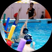 Занятие в Baby Pool