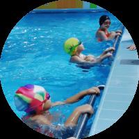 Детский бассейн тренеровка